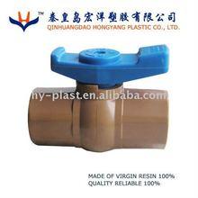 PVC Octagon Ball Valve - Tiger handle