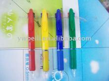 double color plastic ball pen