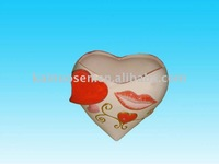 Hotsale ceramic valentine flower pot