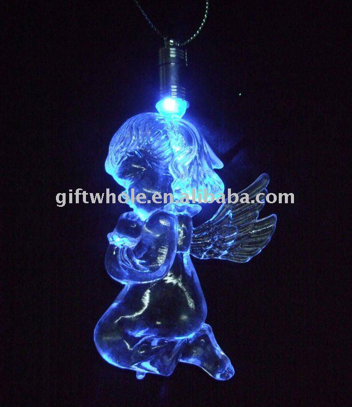 angel light hanging on Window