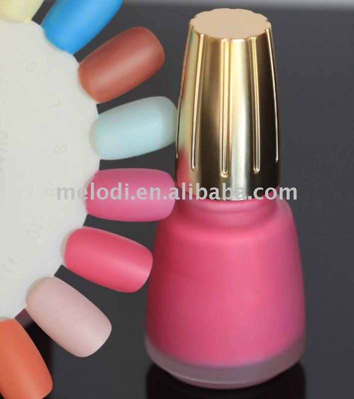 Excellent quality Matt color Nail polish/ Matte Nail Lacquer / lacquer
