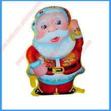 Shape Hospitable Santa Claus Foil Balloon(47cm*60cm)(self sealing balloon, requires helium inflation)