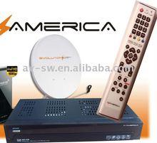 Fta satellite tv receiver decoder digital az america s810b