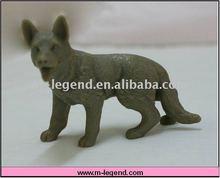 plastic dog figurine