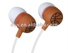 basketball mp3 earphone