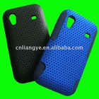 combo cover pvc+silicon case for samsung ace s5830
