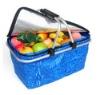 shopping foldable basket cooler bag