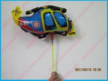 Mini Normal Helicopter of Cup and Stick Mylar Balloons---Hotselling Balloons