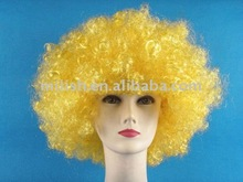 2012 World Cup Football Sports fans cheer team afro Wig Party FBW-0101
