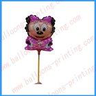 Minnie Mouse Mylar Balloons--Balloons Stick