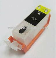 Empty refill ink cartridge for PGI-125/225/325/425/525/725/825BK