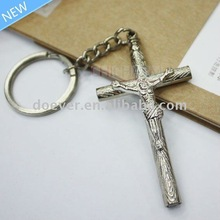 Religious Crucifix Key Chain with Whistle