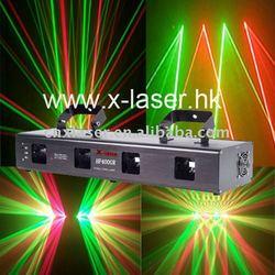 RGY multicolour laser disco light
