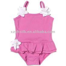 Girl's 1pc microfiber swimsuits 2011 new style swimwear