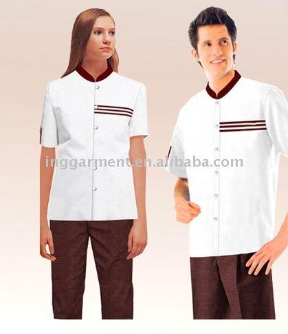 Hotel de limpieza personal uniforme uniformes del hotel for Hotel design jersey
