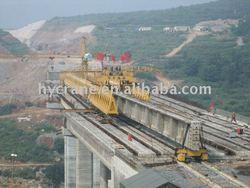 New bridge girder launching