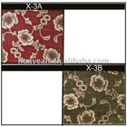 100%polyester flower deisgn furniture upholstery fabric