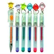 mini gel pen with star shape