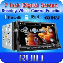 car DVD player supporting DVD/WMA,MP3,AVI,DVD-R,DVD+R