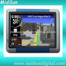 "7"" GPS Navigation,Windows CE 6.0,AV-in,600MHZ,128MB SDRAM,Built-in 4GB Flash Memory, Bluetooth, ISDB-T,FM,DVD,VCD,MP3,MP4"