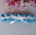Azul gusano de vacaciones de primavera de la boda suministros/hilados artesanales de la boda& regalo/liga de novia para regalo weddingwedding/ligas de la boda
