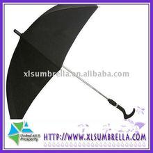 double use straight walking stick umbrella