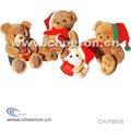 Natal urso de pelúcia, o brinquedo animal macio