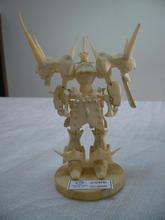 plastic action figure model
