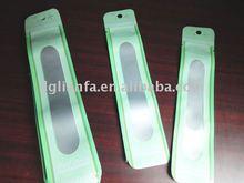 long thin bags for nail salon(nail decal and nail sticker)