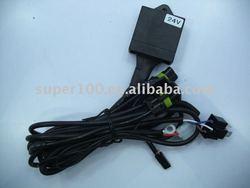 24V 35W H4-3 HID Xenon Telescopic Wire harness