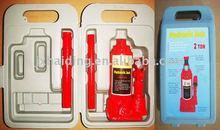 6 Ton hydraulic bottle jack in blow case