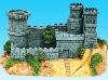 Hotsale resin castle, home decoration