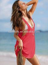 lady's model/spandex beachear cover ups sarong