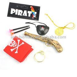 pirate set,Caribbean pirate,pirate eye patch,Caribbean necklace, pirate earring,pirate sword