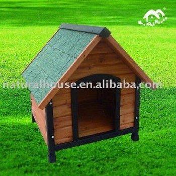 Item no.DH-3 handmade wooden dog kennel