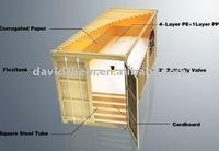 24,000L flexitank/flexibag container for cooking oil/soybean oil/vegetable oil/olive oil transportation