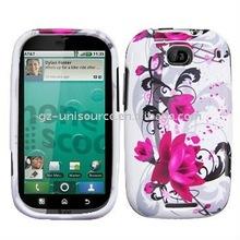 design crystal cellphone case for Motorola MB520/Bravo
