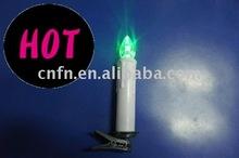 10 pcs led flameless color changing,flash light CE&ROHS prove led candle