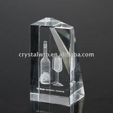 3d laser image crystal gift