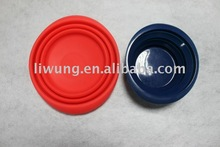 silicone foldable bowl for travelling