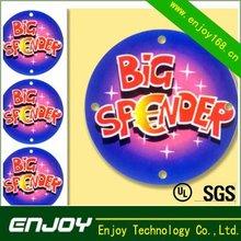 spot color print label color sticker supplier label
