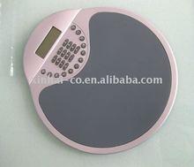 4ports usb HUB mouse pad with Calculator MP13