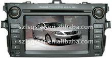 TOYOTA Corolla car PC Navi dvd Device with GPS BT TV RADIO PIP 3D MENU ST-7005