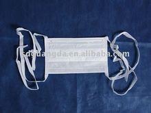 3-PLY 145*95 White isolation children tieback mask