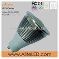 Regulable ul de alta potencia de 4w 3 led gu10 spot led iluminaciones/lámpara halógena gu10 lúmenes