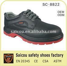 steel toe ladies high heel work boot manufacturer (SC-8822)