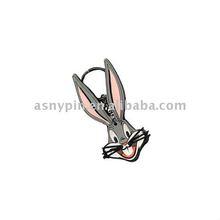 3d soft pvc promotional key chains