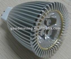 6W GU5.3 Aluminum LED Lamp