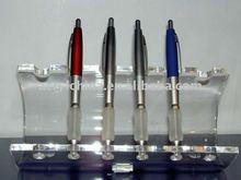 ballpen-holder / ballpoint display stand / clear pen display