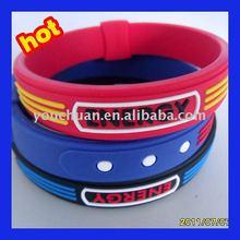 2012 newest stylish sport&healthy Power silicone bracelet free sample